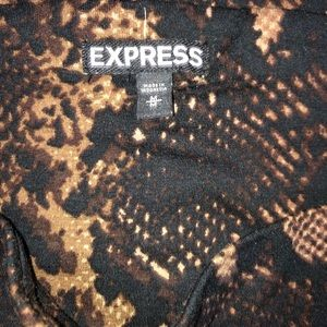 Express Skirts - Like new Express Python Mini